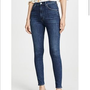 Citizens of Humanity high rise skinny jean